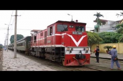 Train Hanoi - Nam Ninh (China)
